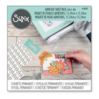 """Εικόνα του Sizzix Αυτοκόλλητα Φύλλα 6""""X6"""""""