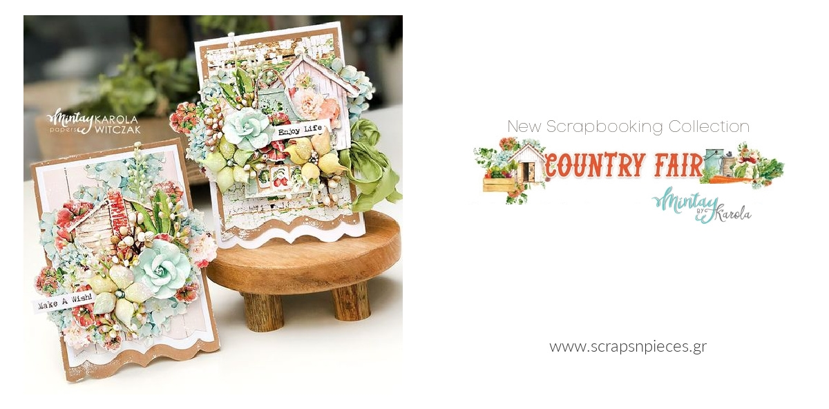 Country Fair Scrapbooking Collection