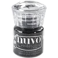 Εικόνα του Nuvo Σκόνη Embossing Glitter - Glitter Noir