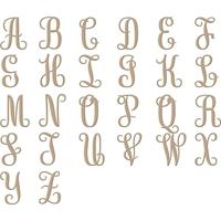 Εικόνα του Spellbinders Glimmer Hot Foil Plates - Elegant Monograms