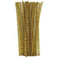"""Εικόνα του Touch Of Nature Chenille Stems 6mmx12"""" - Gold"""