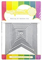 Εικόνα του Waffle Flower Crafts Die -  Nesting A2 Banners