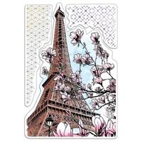 """Εικόνα του Ciao Bella Stamping Art Clear Stamps 4""""X6"""" - Le Magnolia, Notre Vie"""