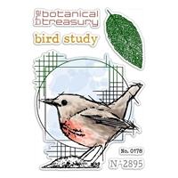 """Εικόνα του Ciao Bella Stamping Art Clear Stamps 4""""X6"""" - Bird Study, Sign Of The Times"""