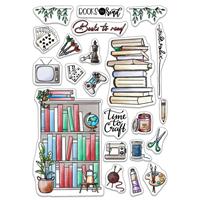 """Εικόνα του Ciao Bella Stamping Art Clear Stamps 6""""X8"""" - Bujo Craft & Hobbies"""