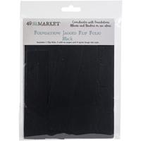 Εικόνα του 49 And Market Foundations Jagged Flip Folio - Black