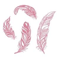 Εικόνα του Couture Creations You Go Girl Stamp Set -  Filigree Feathers