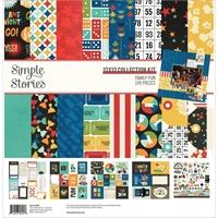 """Εικόνα του Simple Stories Double-Sided Collection Kit 12""""x12"""" – Family Fun"""