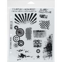 """Εικόνα του Tim Holtz Cling Stamps 7""""X8.5"""" – Urban Chic"""