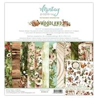 Εικόνα του Mintay Papers Συλλογή Scrapbooking 12''x12'' - Woodland