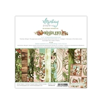 Εικόνα του Mintay Papers Μπλοκ Scrapbooking 6''x 6'' - Woodland