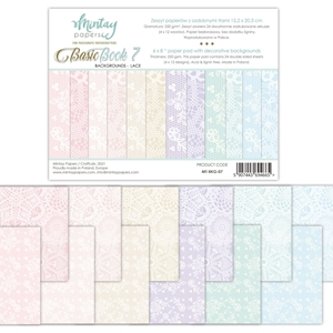 Picture of Mintay Papers Basic Book 7 - Backgrounds Lace