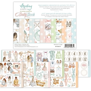 Picture of Mintay Papers Baby Die-Cut Book - Μωρό