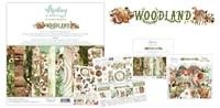 Εικόνα του Mintay Papers Συλλογή Scrapbooking Woodland - Bundle με Δώρο Element Sheet 12''x12''
