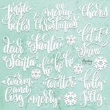 Εικόνα του Mintay Chippies - Ξύλινα Χριστουγεννιάτικα Σχήματα - Christmas Words