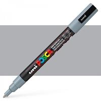 Εικόνα του Μαρκαδόρος POSCA 3M Fine Bullet Tip Pen - Grey