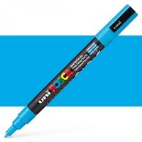 Εικόνα του Μαρκαδόρος POSCA 3M Fine Bullet Tip Pen - Light Blue