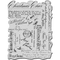 Εικόνα του Stampendous Σφραγίδα Cling – Christmas Background