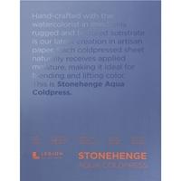 """Εικόνα του Stonehenge Aqua Block Coldpress Pad 9""""X12"""" - Μπλοκ Ακουαρέλας"""