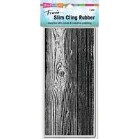 Εικόνα του Stampendous Cling Stamp - Slim Woodgrain