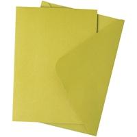 Εικόνα του Sizzix Surfacez Card & Envelope Pack A6 - Mistletoe Green