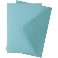 Εικόνα του Sizzix Surfacez Card & Envelope Pack A6 - Peppermint