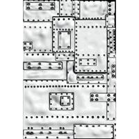 Εικόνα του Sizzix 3D Texture Fades Embossing Folder By Tim Holtz - Mini Foundry