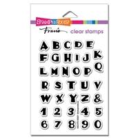 Εικόνα του Stampendous Perfectly Clear Stamps - Inked Alphabet
