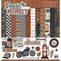 """Εικόνα του PhotoPlay Collection Pack Διπλής Όψεως 12""""X12"""" - Grease Monkey"""
