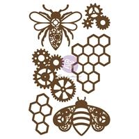 Εικόνα του Prima Laser Cut Chipboard - Powerful Bees