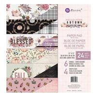 """Εικόνα του Prima Marketing Double-Sided Paper Pad 12""""X12"""" – Hello Pink Autumn"""