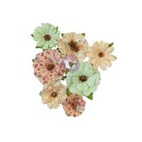 Εικόνα του Prima Marketing Hello Pink Autumn Χάρτινα Λουλούδια Mulberry - Warm Mittens