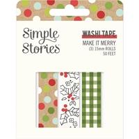 Εικόνα του Simple Stories Washi Tape – Make it Merry