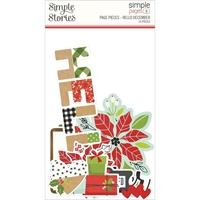 Εικόνα του Simple Stories Simple Pages Page Pieces – Hello December, Make it Merry
