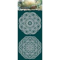 Εικόνα του Studio Light Jenine's Mindful Art New Awakening Stencil - NR. 03, Mandalas