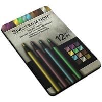Εικόνα του Spectrum Noir Μεταλλικά Χρωματιστά Μολύβια - Σετ των 12