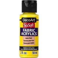 Εικόνα του SoSoft Ακρυλικό Χρώμα για Ύφασμα 59ml - Cadmium Yellow Hue