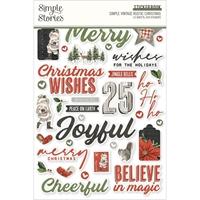 Εικόνα του Simple Stories Μπλοκ Αυτοκόλλητων -  Simple Vintage Rustic Christmas
