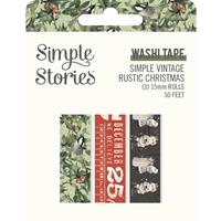 Εικόνα του Simple Stories Washi Tape -  Simple Vintage Rustic Christmas