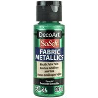 Εικόνα του SoSoft Fabric Metallics Ακρυλικο Χρώμα για Ύφασμα 59ml - Emerald