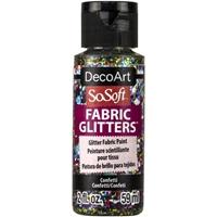 Εικόνα του SoSoft Glitters Ακρυλικό Χρώμα για Ύφασμα 59ml - Confetti