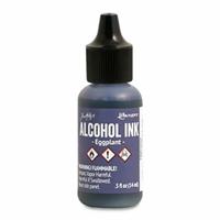 Εικόνα του Tim Holtz Alcohol Ink - Μελάνι Οινοπνεύματος - Eggplant