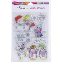 Εικόνα του Stampendous Διάφανες Σφραγίδες Perfectly - Penguin Gift