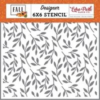 """Εικόνα του Echo Park Stencils 6""""x6""""- Fall Foliage"""