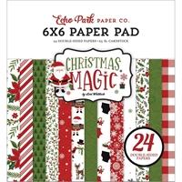 """Εικόνα του Echo Park Μπλοκ Scrapbooking Διπλής Όψεως 6""""X6"""" -  Christmas Magic"""