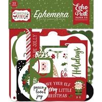 Εικόνα του Echo Park Cardstock Ephemera -  Christmas Magic, Icons