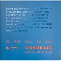 """Εικόνα του Stonehenge Aqua Block Coldpress Pad 7""""X7"""" - Μπλοκ Ακουαρέλας"""