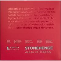 """Εικόνα του Stonehenge Aqua Block Hotpress Pad 7""""X7"""" - Μπλοκ Ακουαρέλας"""