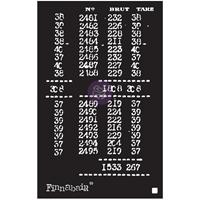 """Εικόνα του Finnabair Stencil 6""""X9"""" - Book Of Numbers"""