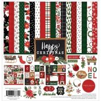 """Εικόνα του Carta Bella Double-Sided Collection Kit 12""""x12"""" – Happy Christmas"""